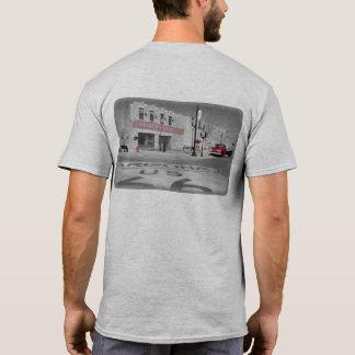 Winslowアリゾナの赤いしぶきの写真 Tシャツ