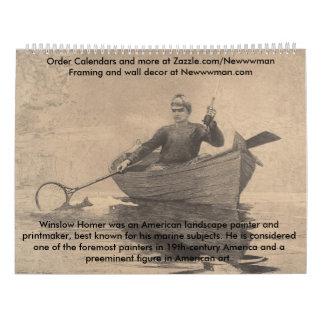 WinslowホーマーのコレクションI カレンダー