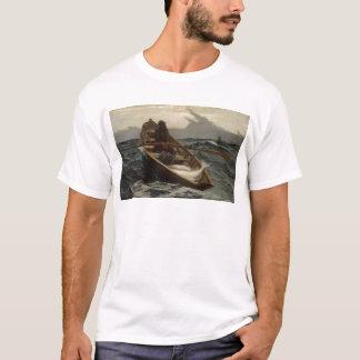Winslowホーマーの霧の警告 Tシャツ