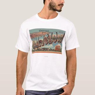Winslow、アリゾナ-大きい手紙場面 Tシャツ