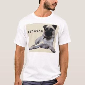 Winstonのカジュアルな犬 Tシャツ