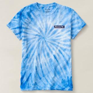 Winstonの絞り染め Tシャツ