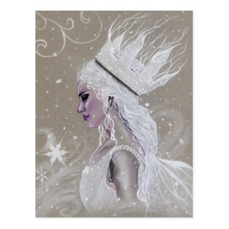 Winter Fairy Queen Postcard ポストカード