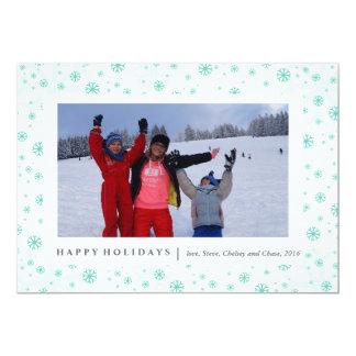 Winterlandフレームは|のクリスマスを梳きます カード