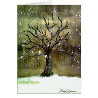 Wintertreeの挨拶状 グリーティングカード