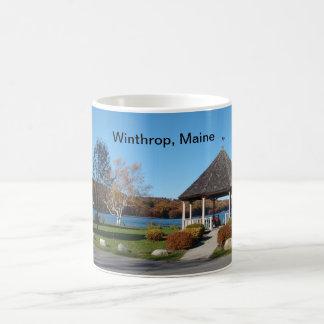 Winthropのメインのマグ コーヒーマグカップ