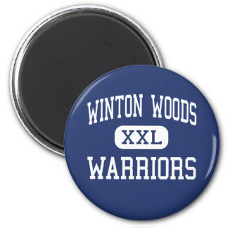 Wintonの森-戦士-高シンシナチオハイオ州 マグネット