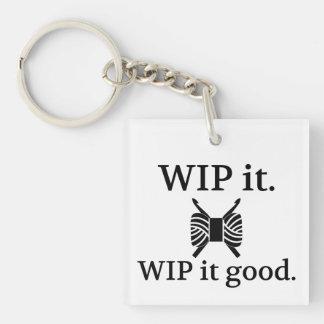 WIPよいそれ • かぎ針編みの技術 キーホルダー
