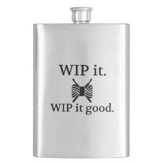 WIPよいそれ-かぎ針編み フラスク