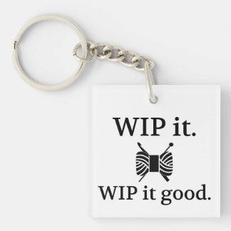 WIPよいそれ • ニットのかぎ針編みの技術 キーホルダー