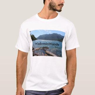 WisdomInWanderの流木のTシャツ Tシャツ