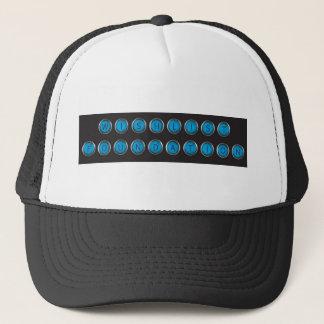 WishlistのBackspacerのタイプトラック運転手の帽子 キャップ