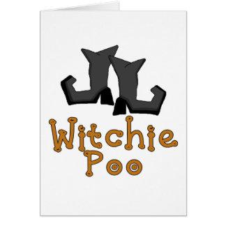 Witchie PooのTシャツおよびギフト カード