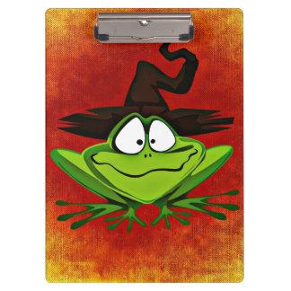 Witchyのカエル クリップボード