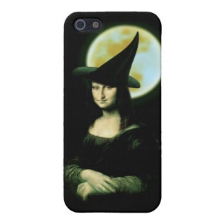 Witchyの女性モナ・リザハロウィン iPhone 5 カバー