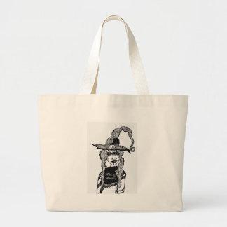 Witchyの女性 ラージトートバッグ