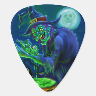 Witchyの黒猫のシチューのギターピック ギターピック