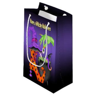 Witchyハロウィンのギフトバッグ スモールペーパーバッグ