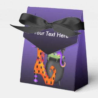 Witchyハロウィンのテントの好意箱 フェイバーボックス