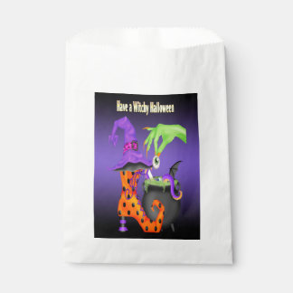 Witchyハロウィンの好意のバッグ フェイバーバッグ