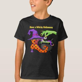 WitchyハロウィンのTシャツ Tシャツ