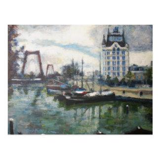Witte Huisのホワイトハウスのロッテルダムのファインアートの絵画 はがき