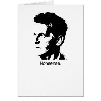 Wittgensteinのチャーム カード