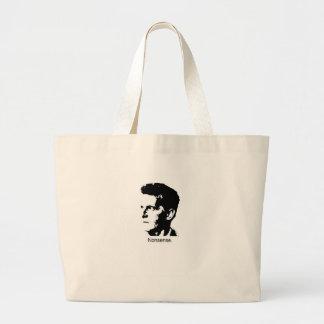 Wittgensteinのチャーム ラージトートバッグ
