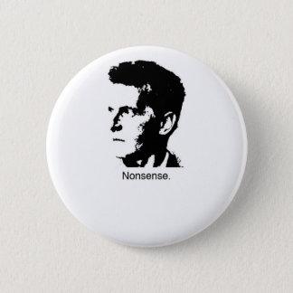 Wittgensteinのチャーム 5.7cm 丸型バッジ