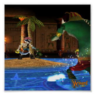Wizard101 Krokotopiaポスター ポスター