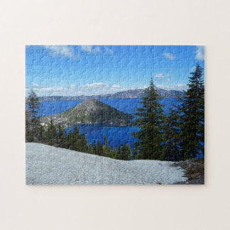 Wizard Island Crater Lake Oregon ジグソーパズル