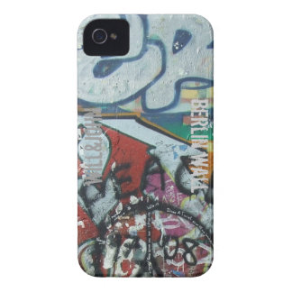 WJのブラックベリーの箱のベルリンの壁 Case-Mate iPhone 4 ケース