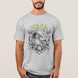 WKKAのビクトリアンなスタイルのロゴ Tシャツ