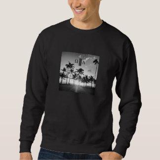WL3 XのヴィンテージのビーチCrewneck スウェットシャツ