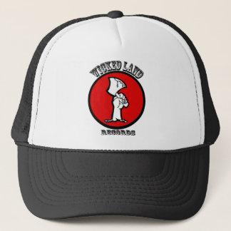 WLRのトラック運転手の帽子(黒) キャップ
