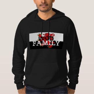 WOD家族のスエットシャツ パーカ