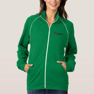 Wodiacの女性のアメリカの服装カリフォルニアフリース ジャケット