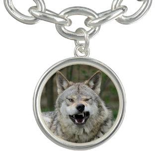 Wolf_2015_0203 チャームブレスレット