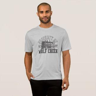 Wolf Creek -人のスポーツTekの競争相手の支柱 Tシャツ