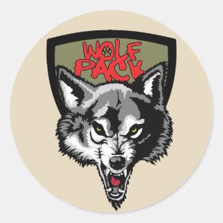 wolf pack ラウンドシール
