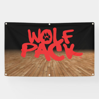 wolf pack 横断幕
