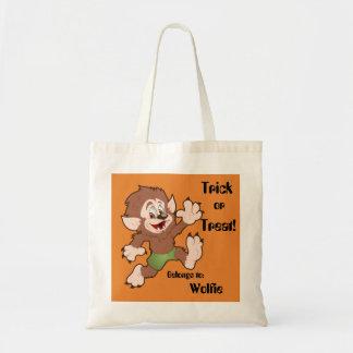 Wolfieのトリック・オア・トリートのバッグ トートバッグ