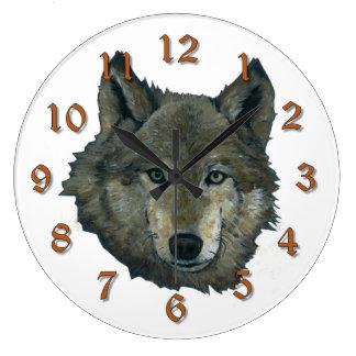 Wolfie ラージ壁時計