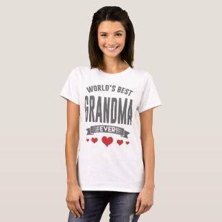 WOLRDで最も最高のな祖母 Tシャツ