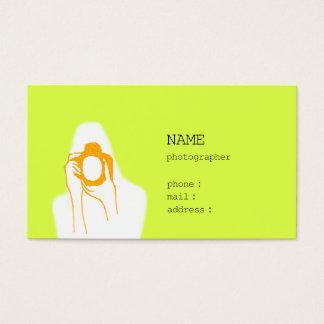 woman photographer 名刺
