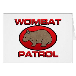 WombatのパトロールIII カード