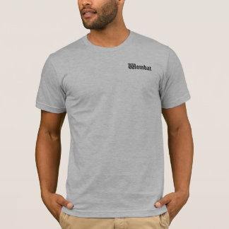 Wombatのワイシャツ! Tシャツ