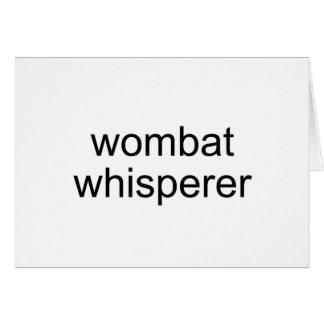 wombatの囁くもの カード