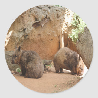Wombatの天国 ラウンドシール