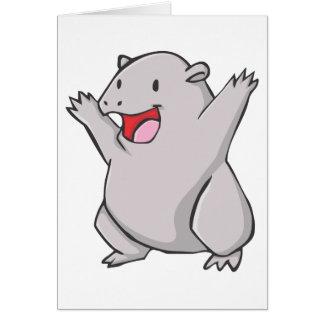 Wombatの幸せな共通の漫画 カード